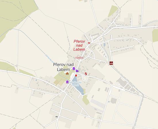 Mapa Obcanske Vybavenosti Prerov Nad Labem